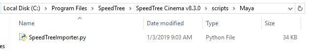 Newbie here - Speedtree to Maya - SpeedTree Forum