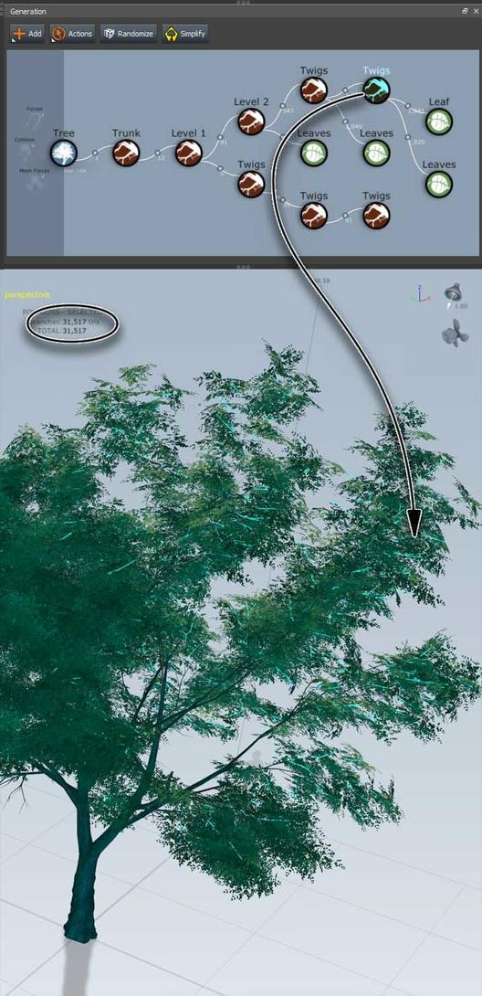 SpeedTree GeneralTree for Unity by AlanMattano
